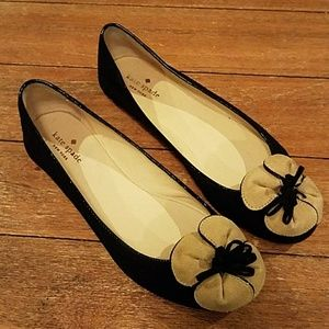 Kate Spade Flats with Flower Size 8.5M